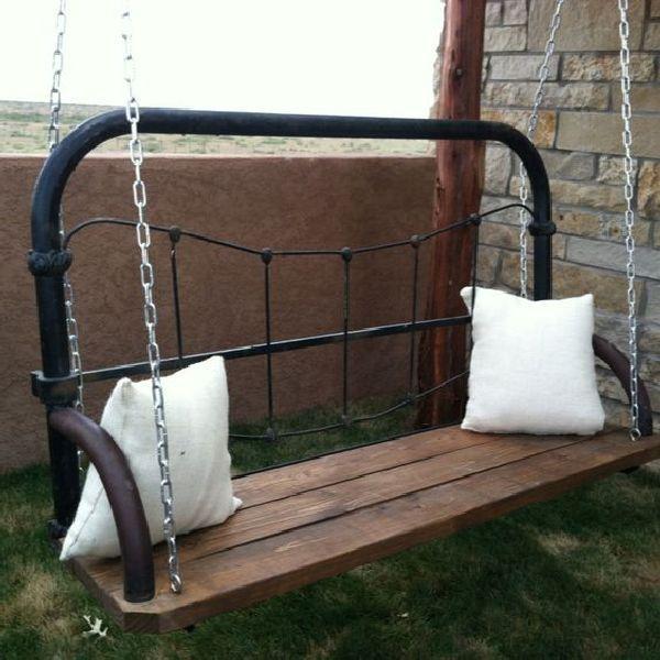 Repurpose bed frame