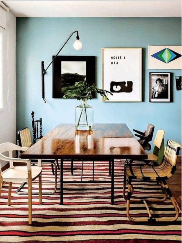 mint room decor