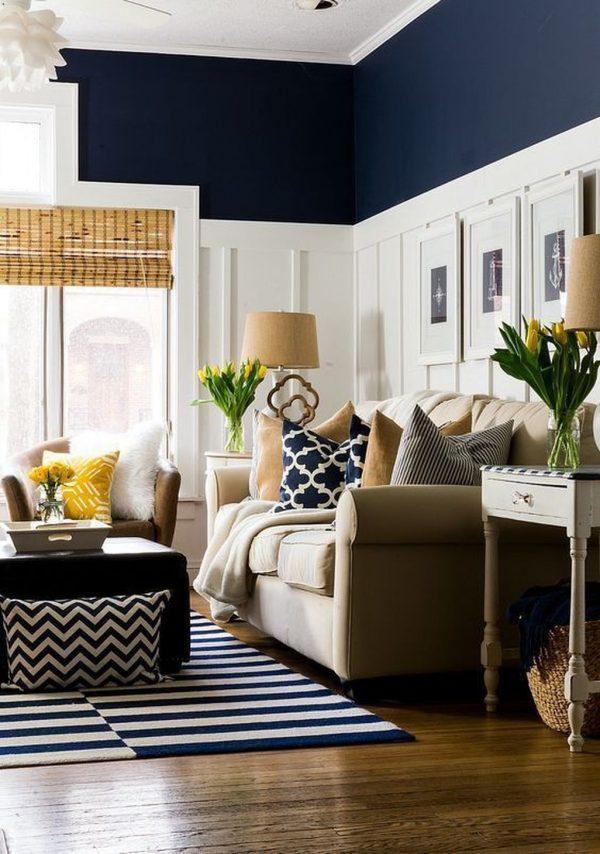 navy room decor