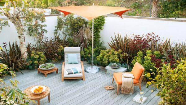 small backyard ideas no grass