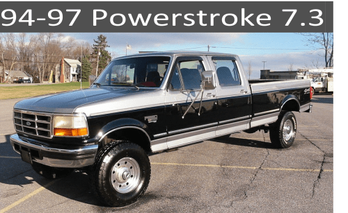small resolution of  94 97 ford 7 3 powerstroke diesel parts