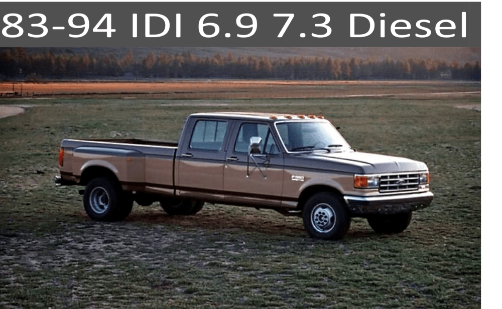 medium resolution of 83 94 ford idi 6 9 and 7 3 diesel parts