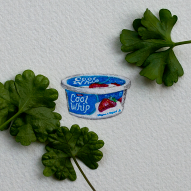 Cool Whip – 25 x 16 mm.