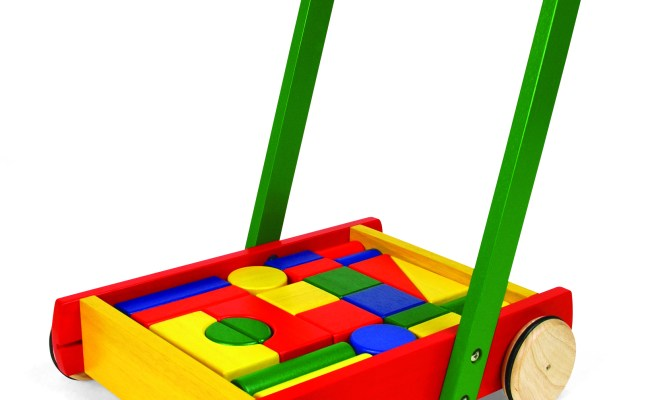 Push Along With Blocks Little Rascals