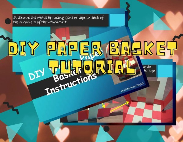 DIY Paper Basket Tutorial product thumbnail 1