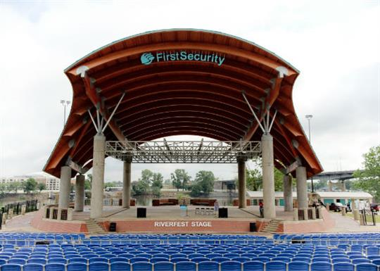 First Security Amphitheater Little Rock