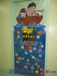 Classroom Door Decor | Little Running Teacher