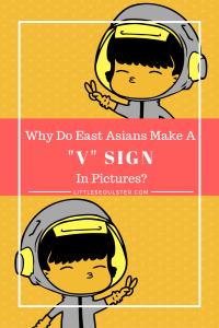 Why do East Asians make a _v_ sign in pictures_