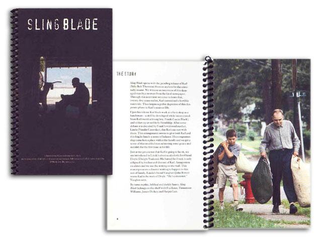 Sling Blade promotional material