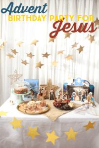 Advent birthday party for Jesus