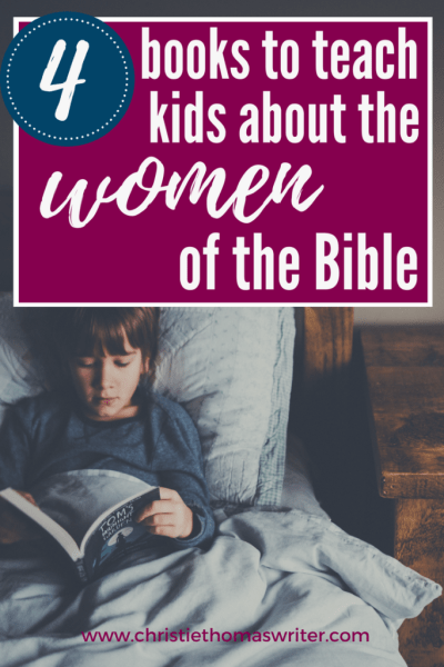 Use these books to teach your kids about the amazing women in the Bible! #familyfaith #Christianmom #familygoals