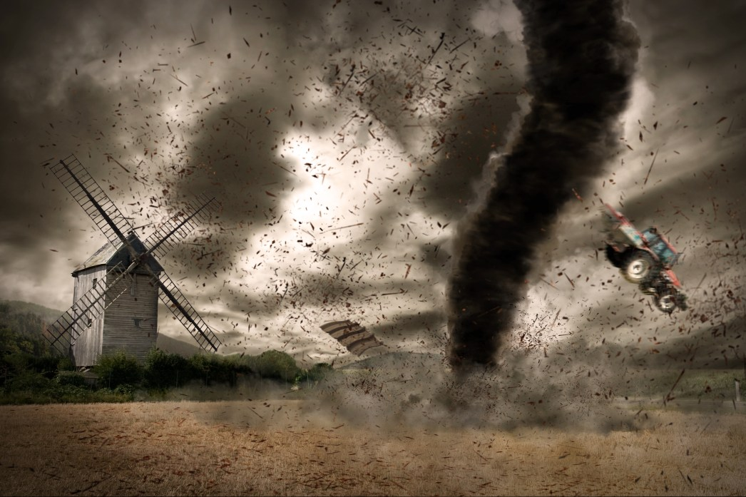 the inside of an anxious mind looks like a windstorm!