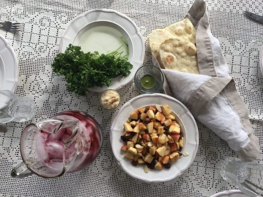 Messianic Passover Seder meal