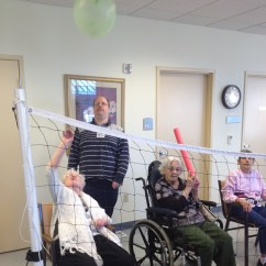 Wheelchair Volleyball Folding Chair Lowes Fun Little Sisters Of The Poor Pittsburgh