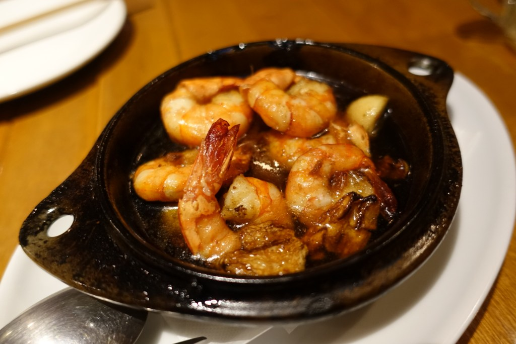 Ahijo - my favourite! Prawns in olive oil and garlic. Super hot when it first arrives and will scald your tongue, but SO delicious!