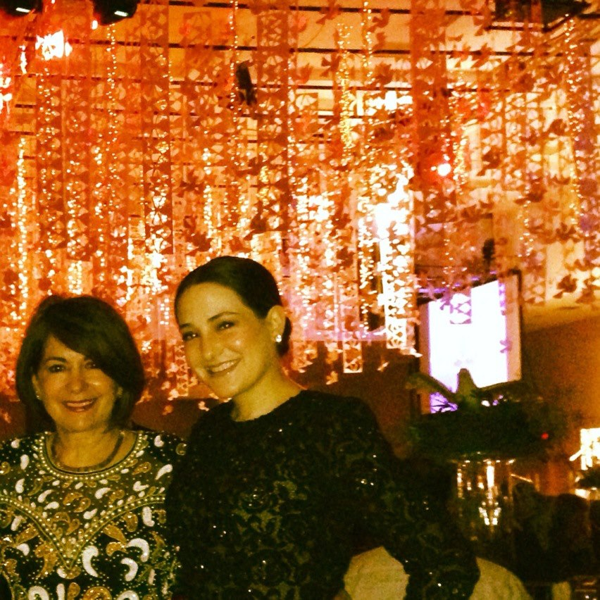 Alejandra and her mother attending the JDRF (Juvenile Diabetes Research Foundation) Gala in 2013.