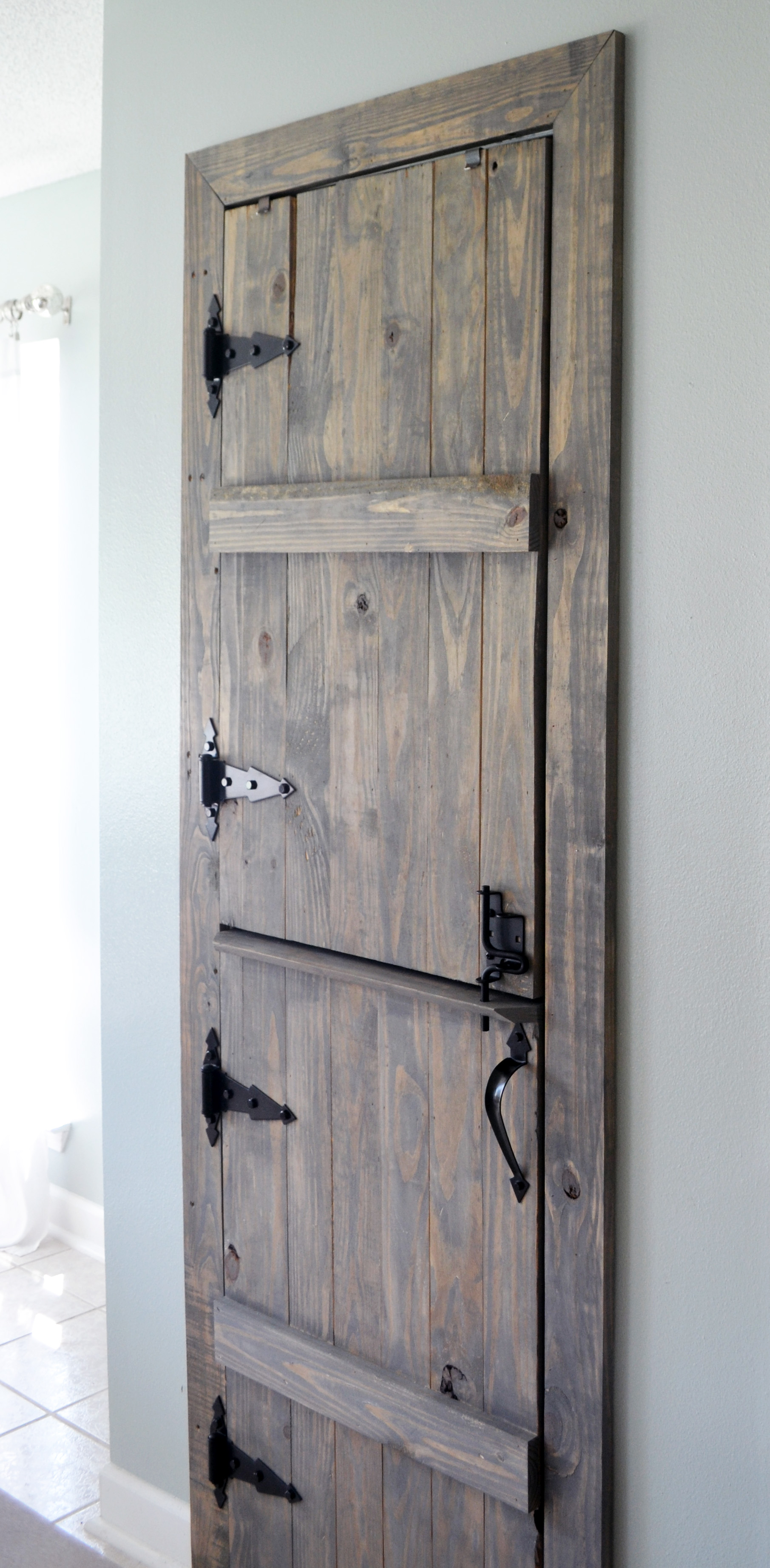 Diy Farmhouse Pantry Door Littles Life Amp Laughter