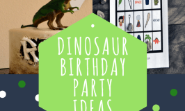 Dinosaur Birthday Party Ideas
