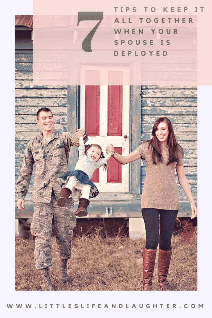 Help when your spouse is deployed