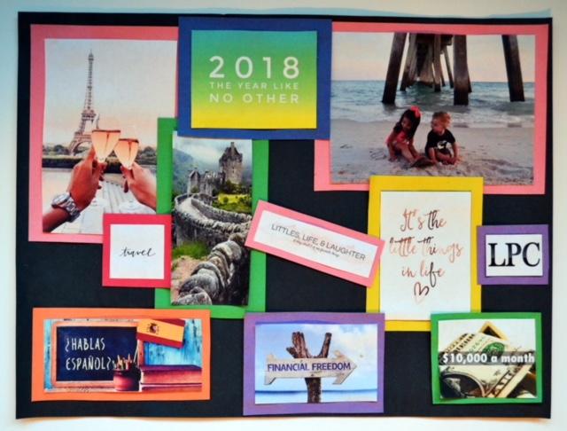 2018 Vision Board