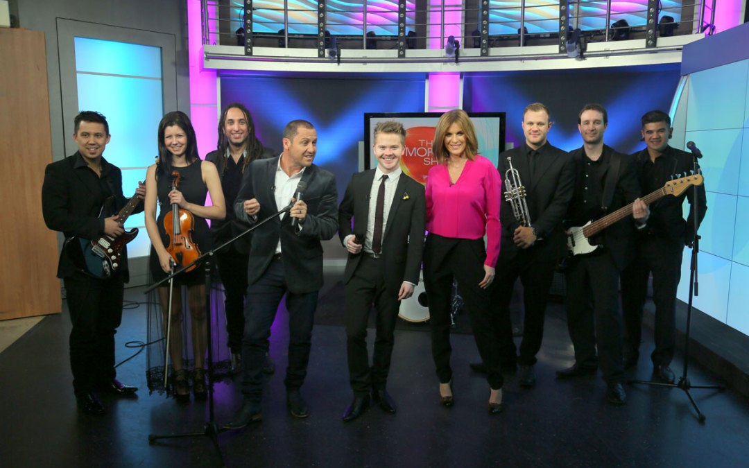 Liam Burrows 'The Morning Show (Channel 7) – August 2014