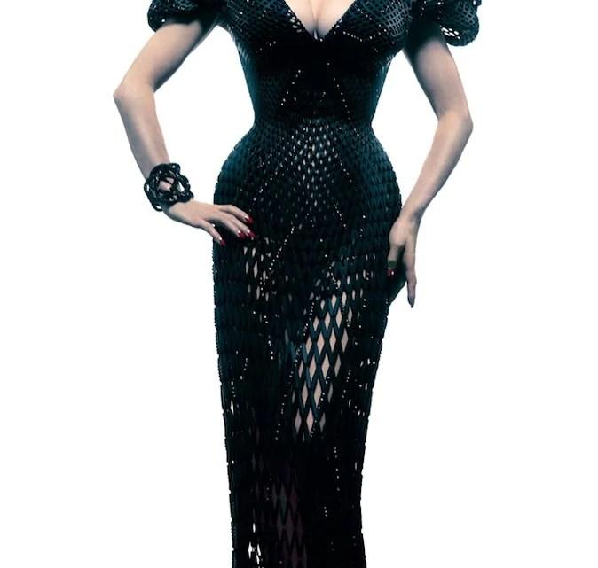 """La première robe """"imprimée"""" avec une imprimante 3D"""