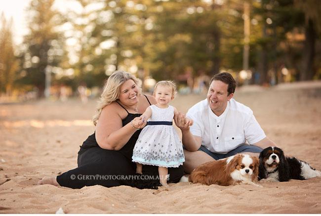 beach family photography brisbane