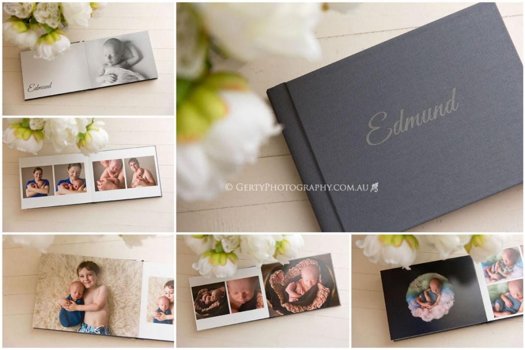 Newborn photos in Brisbane album