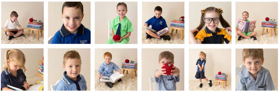 Brisbane prep starting school milestone photos 2017