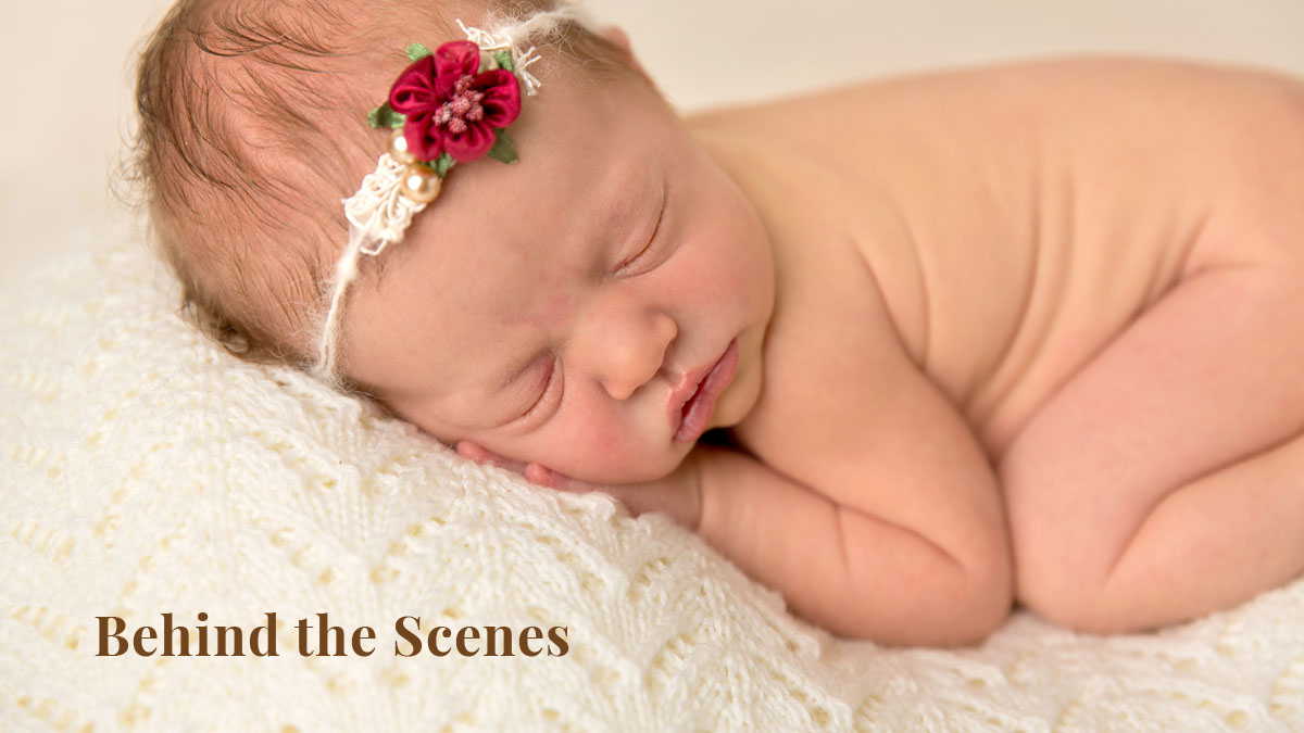 timelapse newborn session - brisbane newborn photographer
