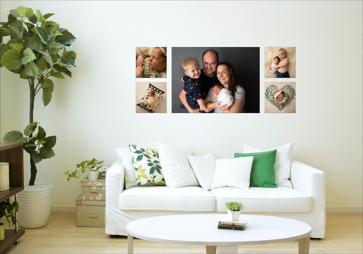 newborn family collection