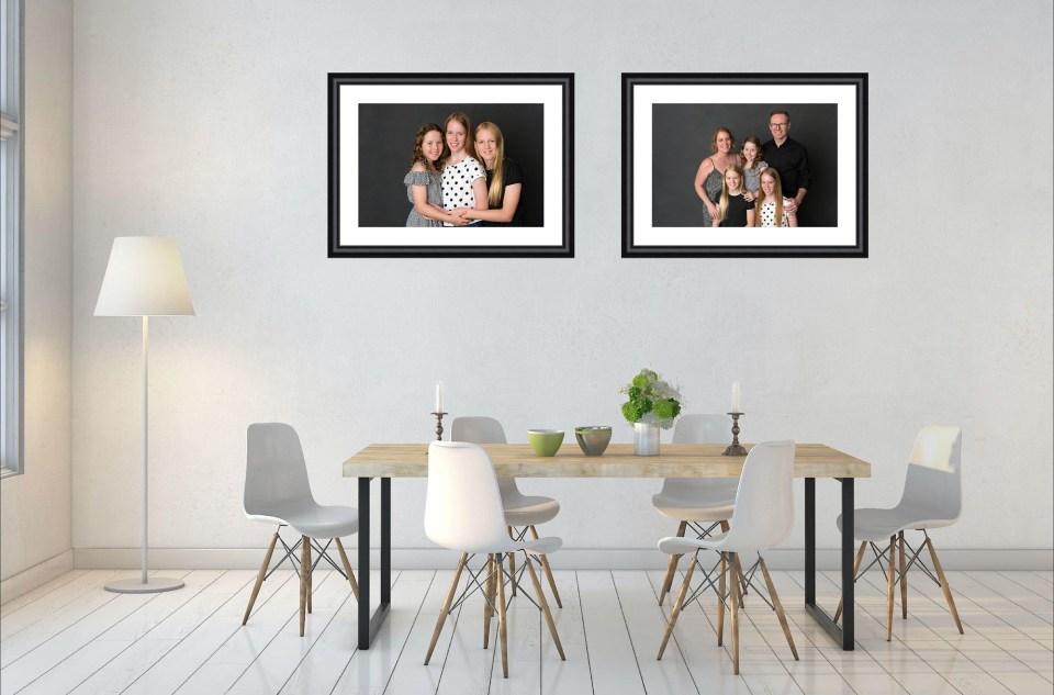 custom frame brisbane studio family photographer