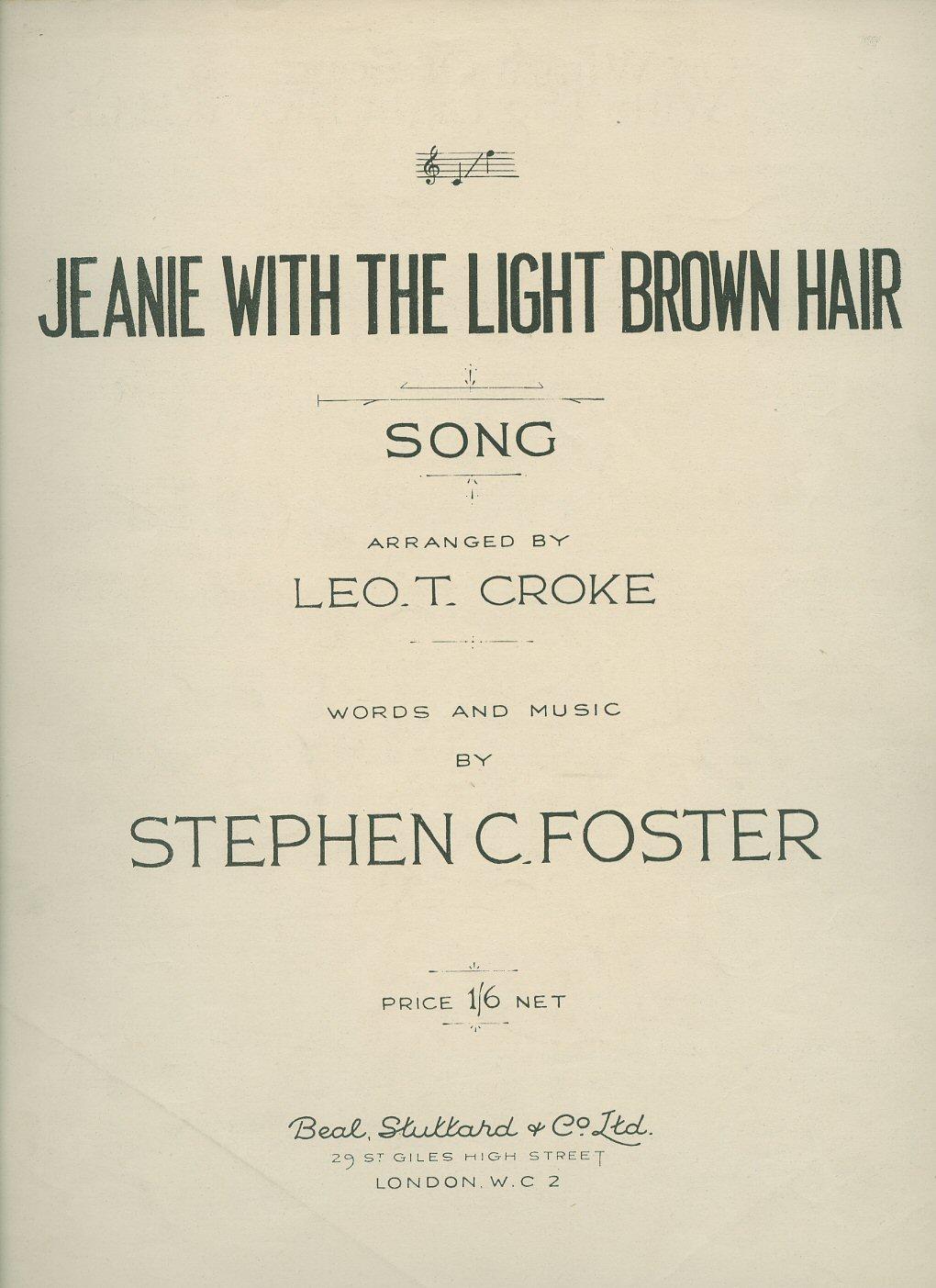 Jeanie Light Brown Hair Pdf