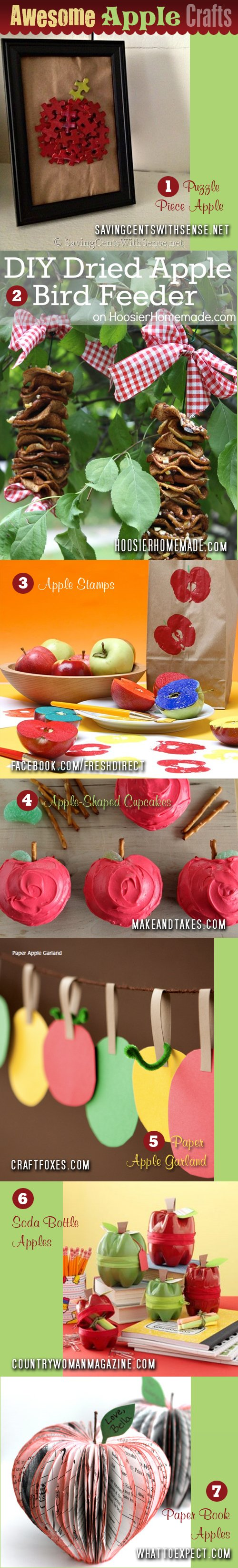 7 Awesome Apple Crafts