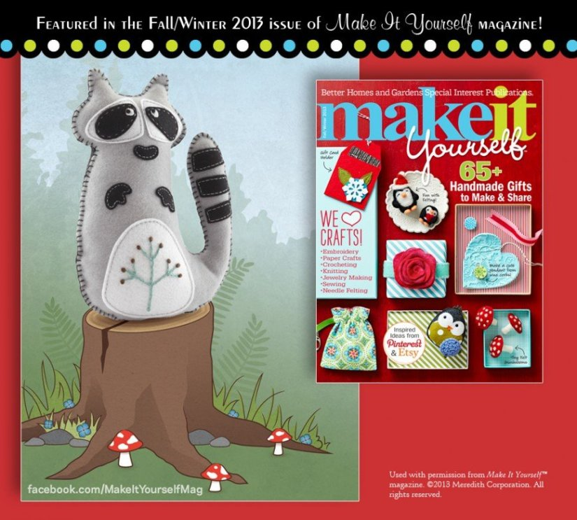 Make It Yourself Magazine Feature
