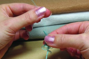 Separating embroidery floss