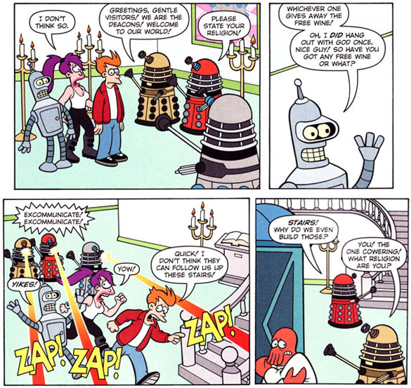 Image result for futurama dalek