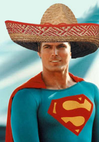 Image result for mexican superman baby