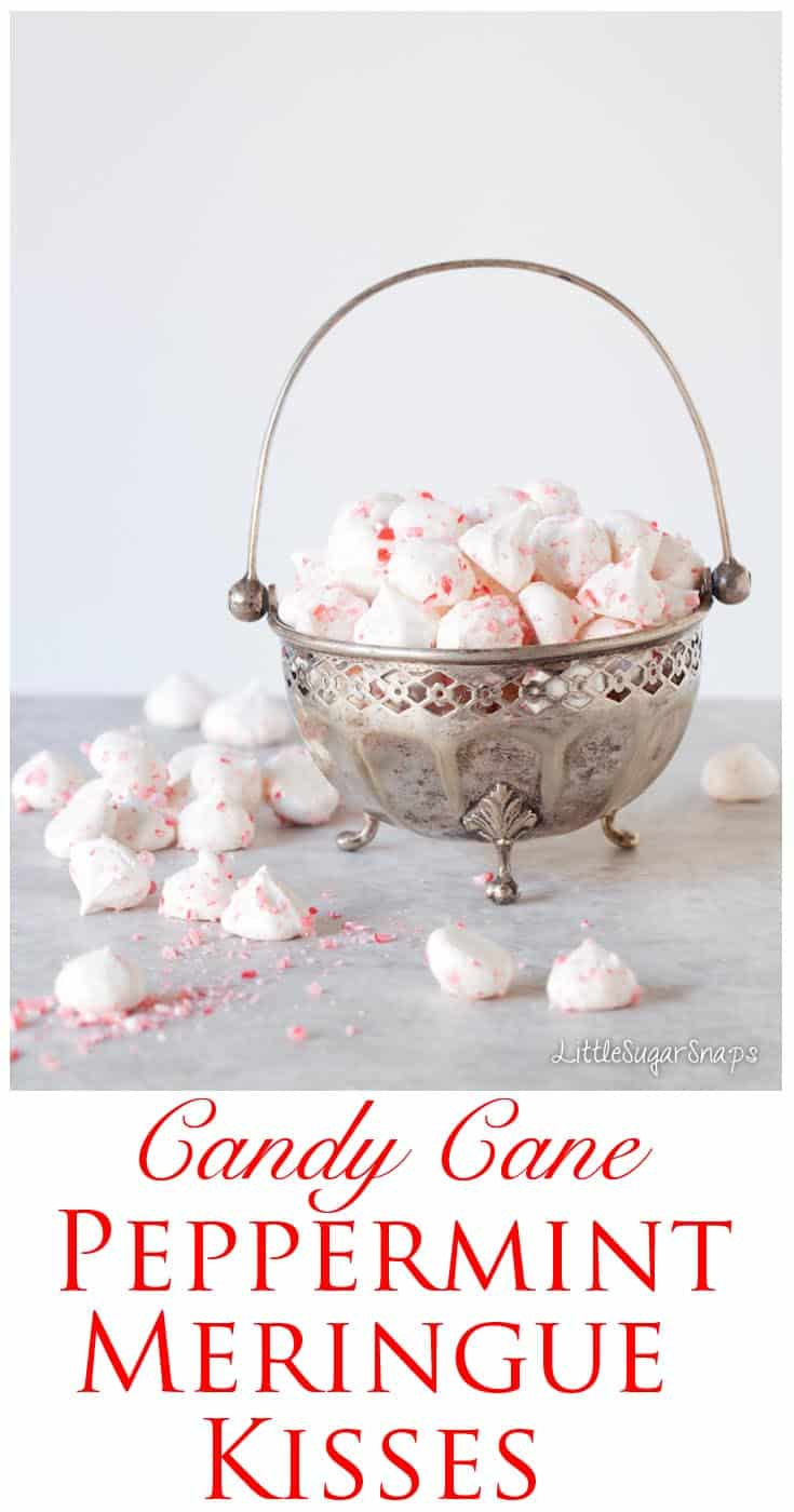 Peppermint Meringue Kisses: serve after a meal with coffee or perhaps to top a cream loaded hot chocolate.