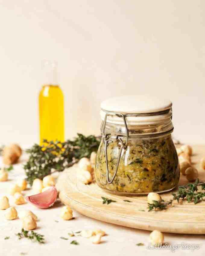 Thyme Hazelnut Pesto