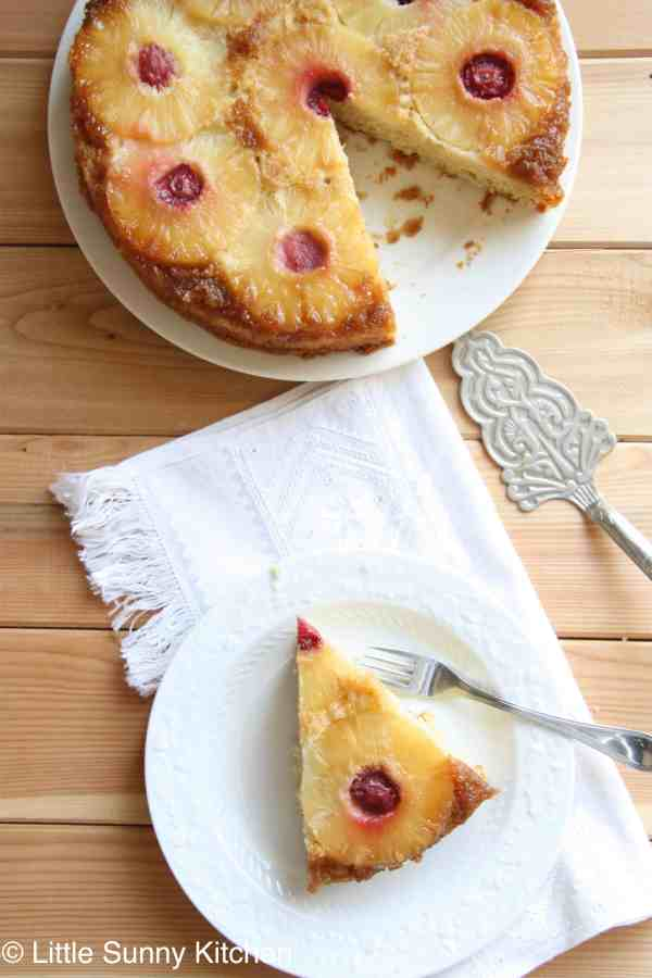 pineapple cake upsidedown