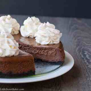 Chocolate Cinnamon Cheesecake