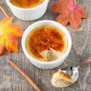 Maple Spice Creme Brûlée