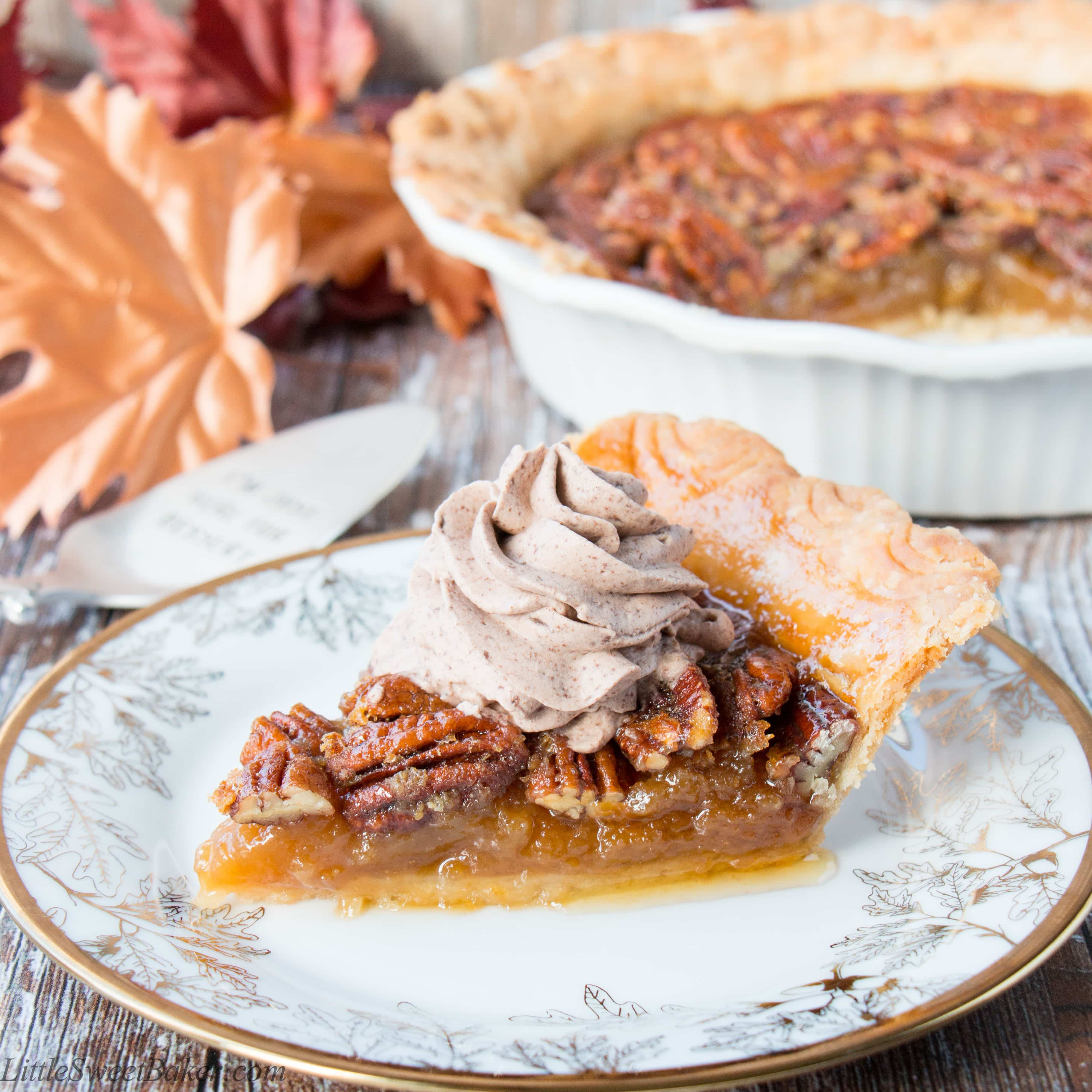 Chocolate Pecan Pie With Molasses
