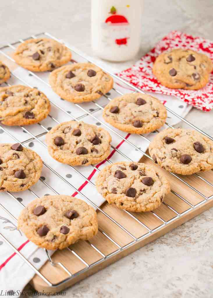 Chewy Chocolate Chip Cookies Video Little Sweet Baker