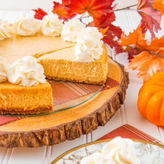 Pumpkin Chai Cheesecake (video)