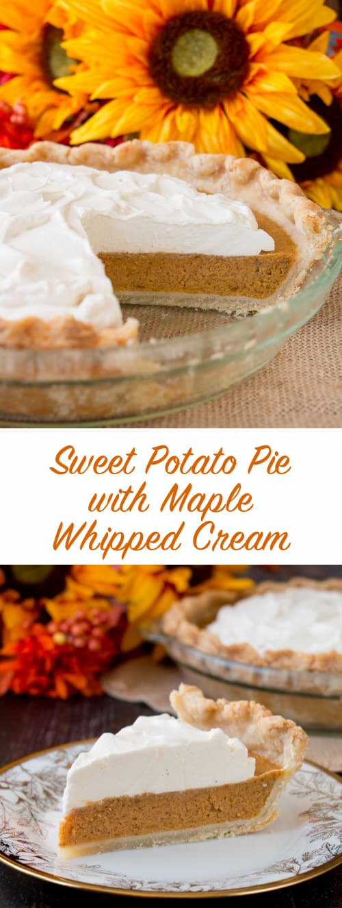 Sweet potatoes baked with butter and autumn spices in a crispy flaky pie crust makes this a true Southern favorite.