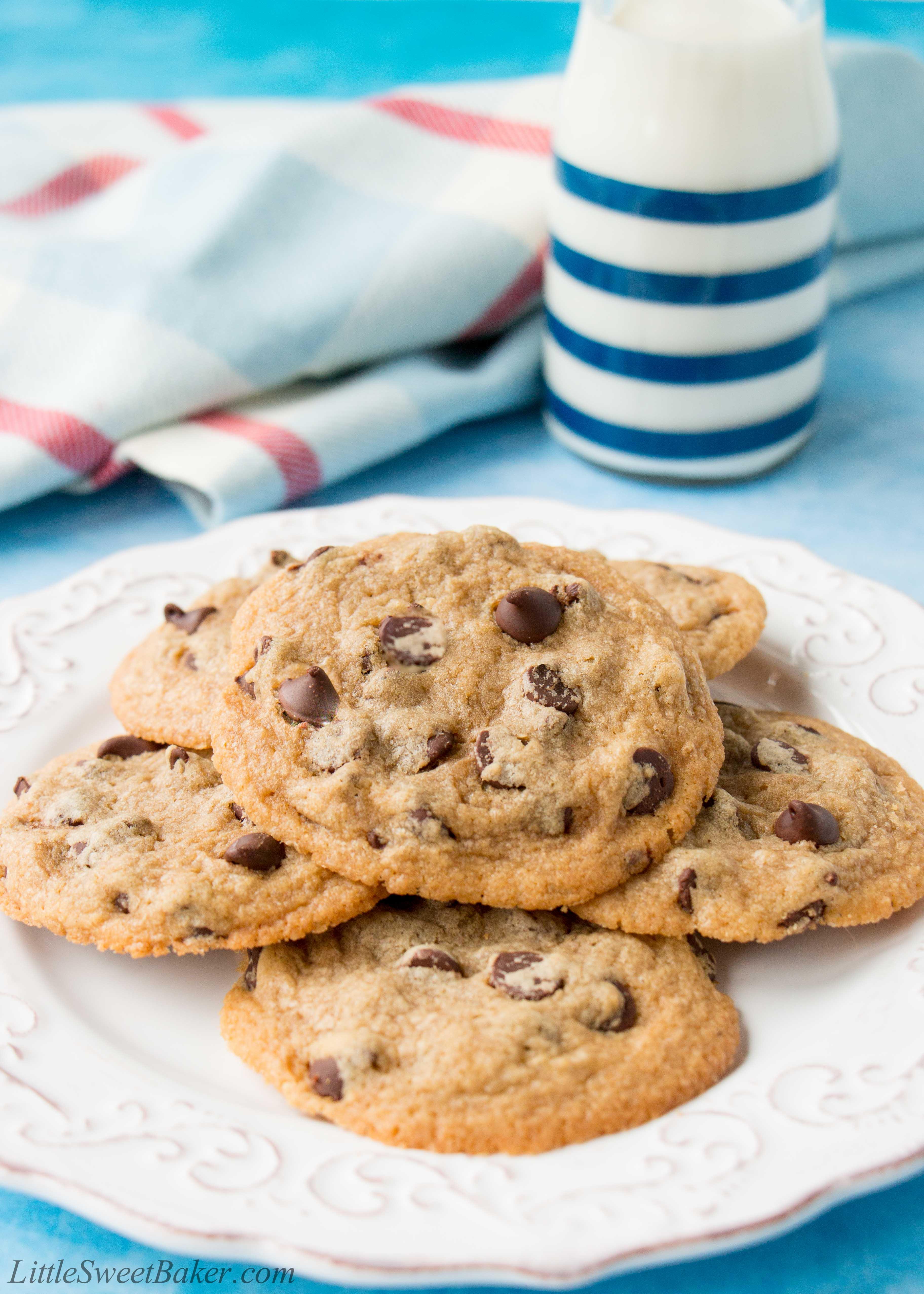 Easy Chocolate Chip Cookies Video Little Sweet Baker