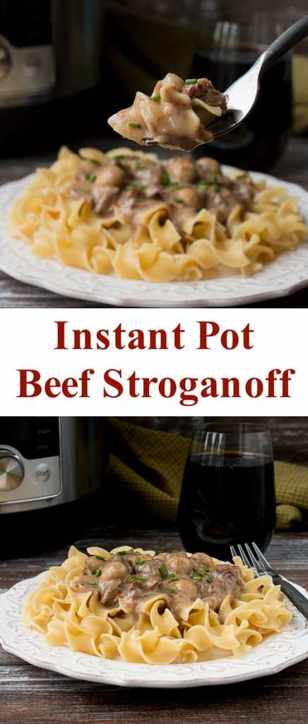 Instant Pot Beef Stroganoff Little Sweet Baker