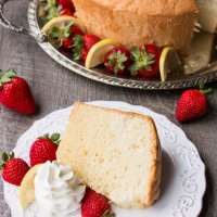 Vanilla Chiffon Cake (video)